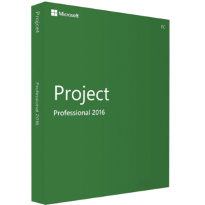 Microsoft Project Professional 2016 Para 1 Pc RETAIL MFR # H30-05445