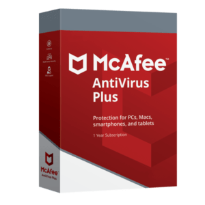Mcafee Antivirus Plus 2019 Dispositivos Ilimitados PC/MAC/Mobile Por 3 Años