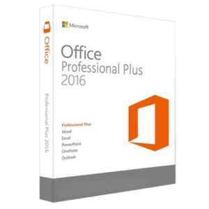 Microsoft Office Professional Plus 2016 Licencia RETAIL 10 Pc MFR # 79P-05552