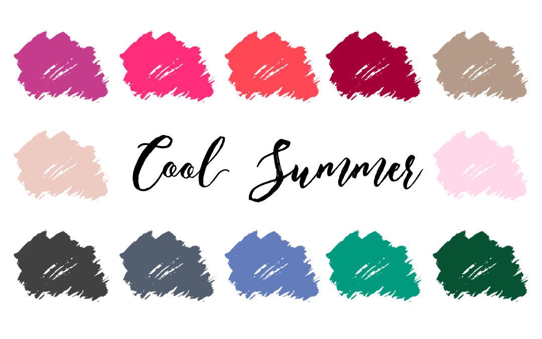 Cool Summer Palette True Summer Cool Light Infinitcloset