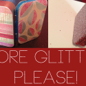 Upcycled Altoid Tins: scrapbooking and glittering