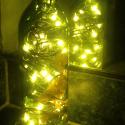 DIY Wine Glass Christmas Light project