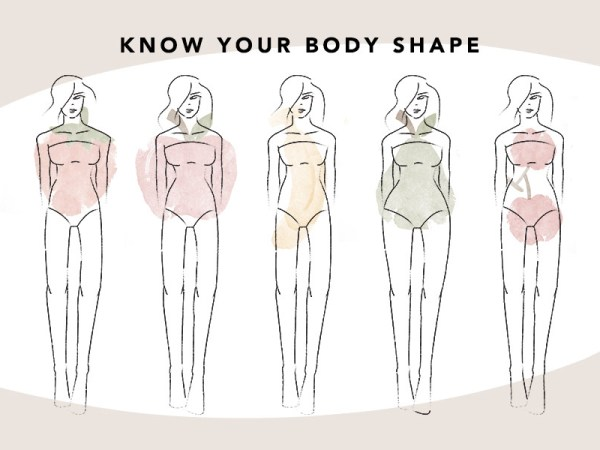 How To Know Your Body Shape And Dress Better