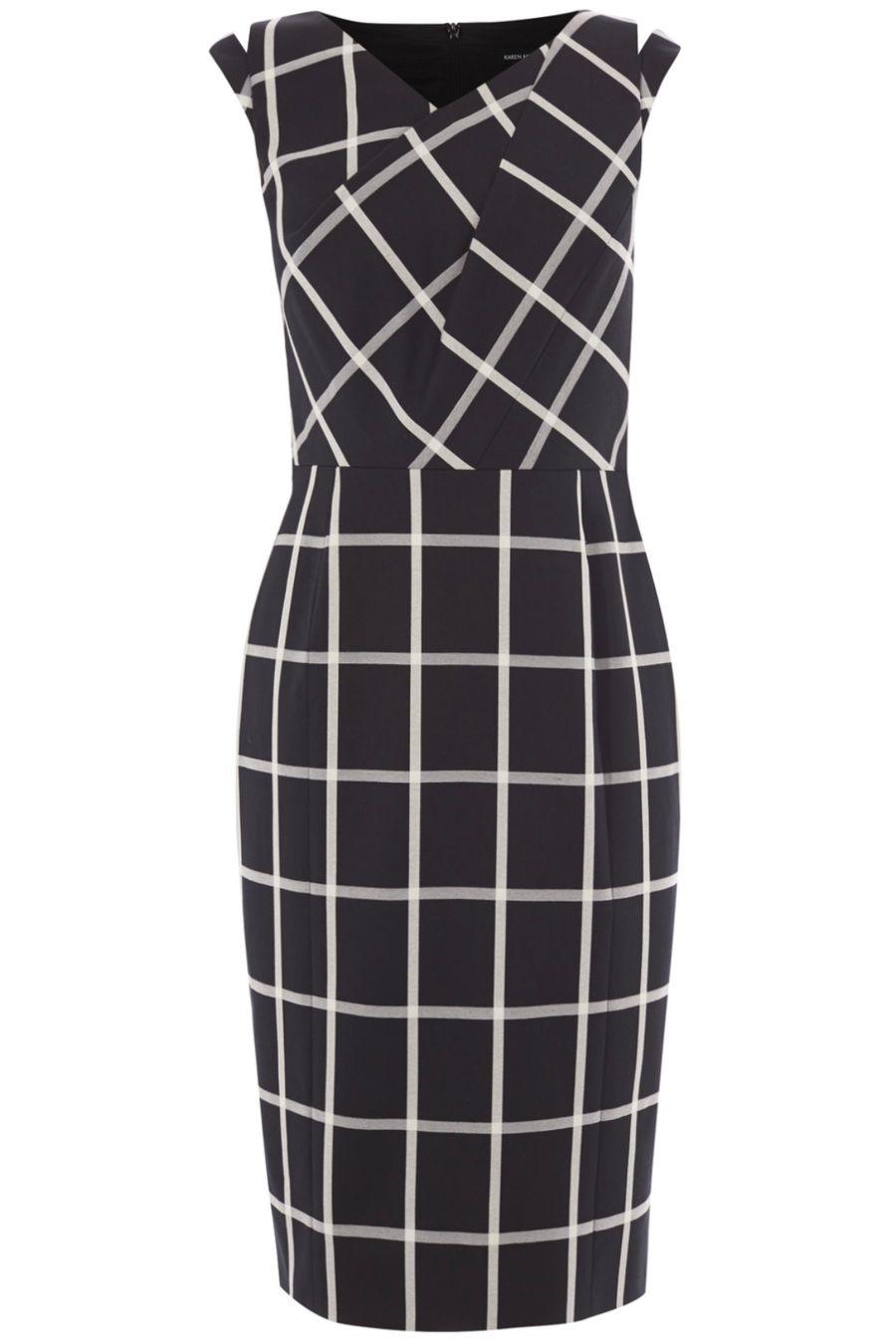 karen-millen-windowpane-check-dress-1