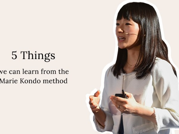 5 Things We Can Learn From The KonMari Decluttering Method