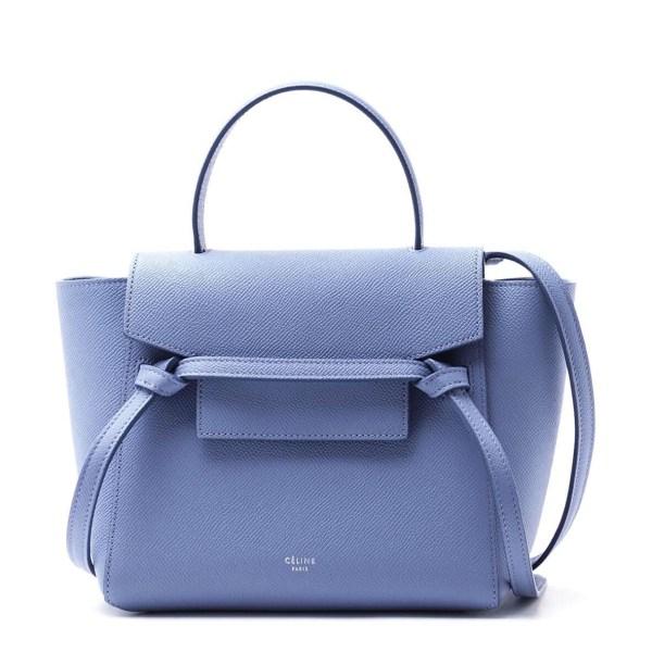 Style Theory Designer Bags_Celine Medium Phantom Blue