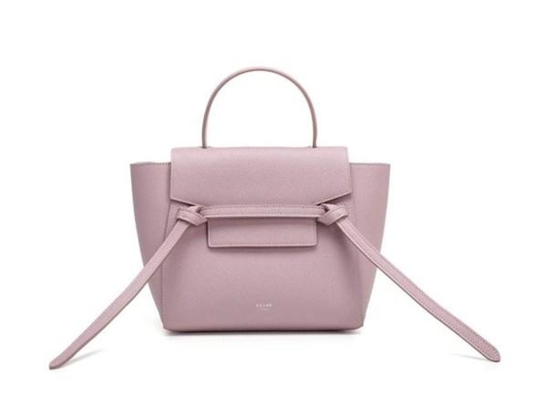 Style Theory Designer Bags_Celine Nano Belt Bag Antique Rose
