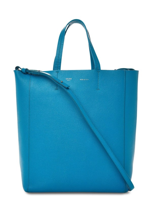 Style Theory Designer Bags_Celine Small Vertical Cabas Blue