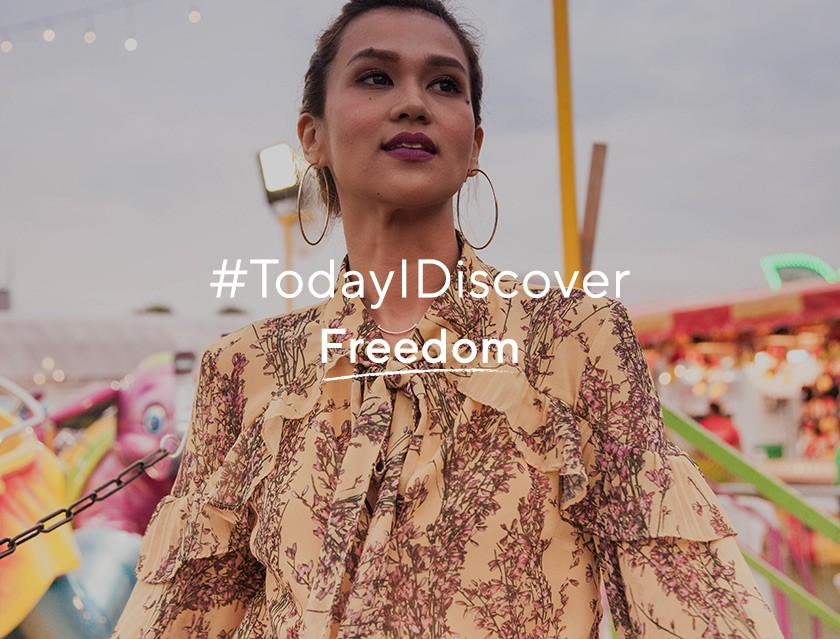 #TodayIDiscover – Freedom