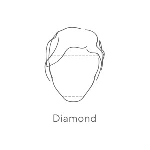 Diamond (dotted lines) 2