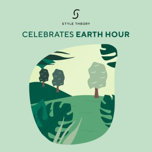 style theory celebrates earth hour