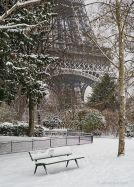 french 24 - eiffel tower - winter