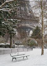 french 24 - eiffel tower - winter