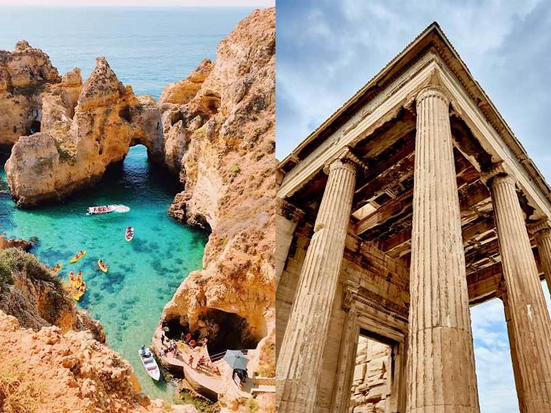 Portugal y Grecia- ¿Los destinos turístico más seguros?