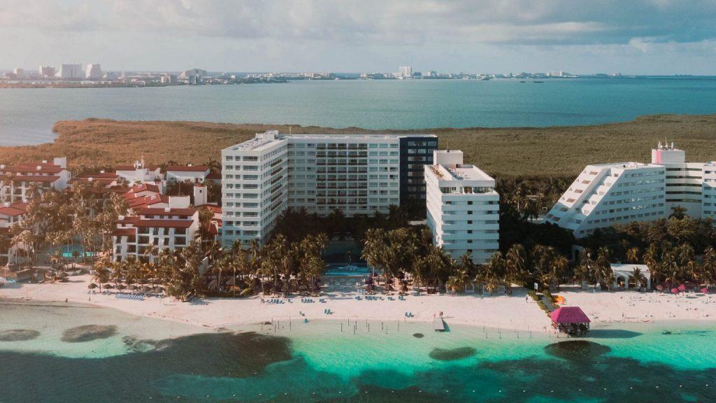Grand Oasis Palm aérea