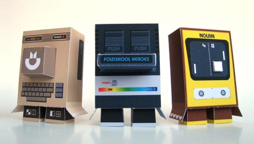 Foldschool Heroes: turn classic systems into papercraft