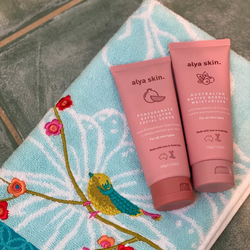 My Natural Skincare Routine for a Bright, Restored Complexion- Featuring Alya Skin and Real-U