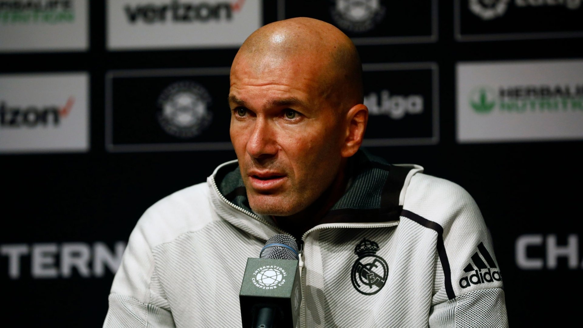 "Zidane: ""Defeat hurts, but I'm not worried"""