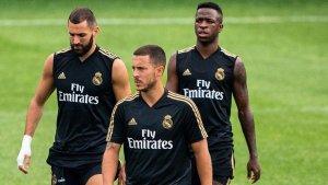 Hazard Benzema Vinícius – Real Madrid's new magical trio?