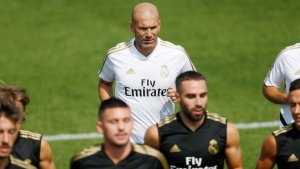 Zidane leaves training camp for personal reasons