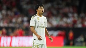 "Kubo: ""I'm pleased to have made my Real Madrid debut"""