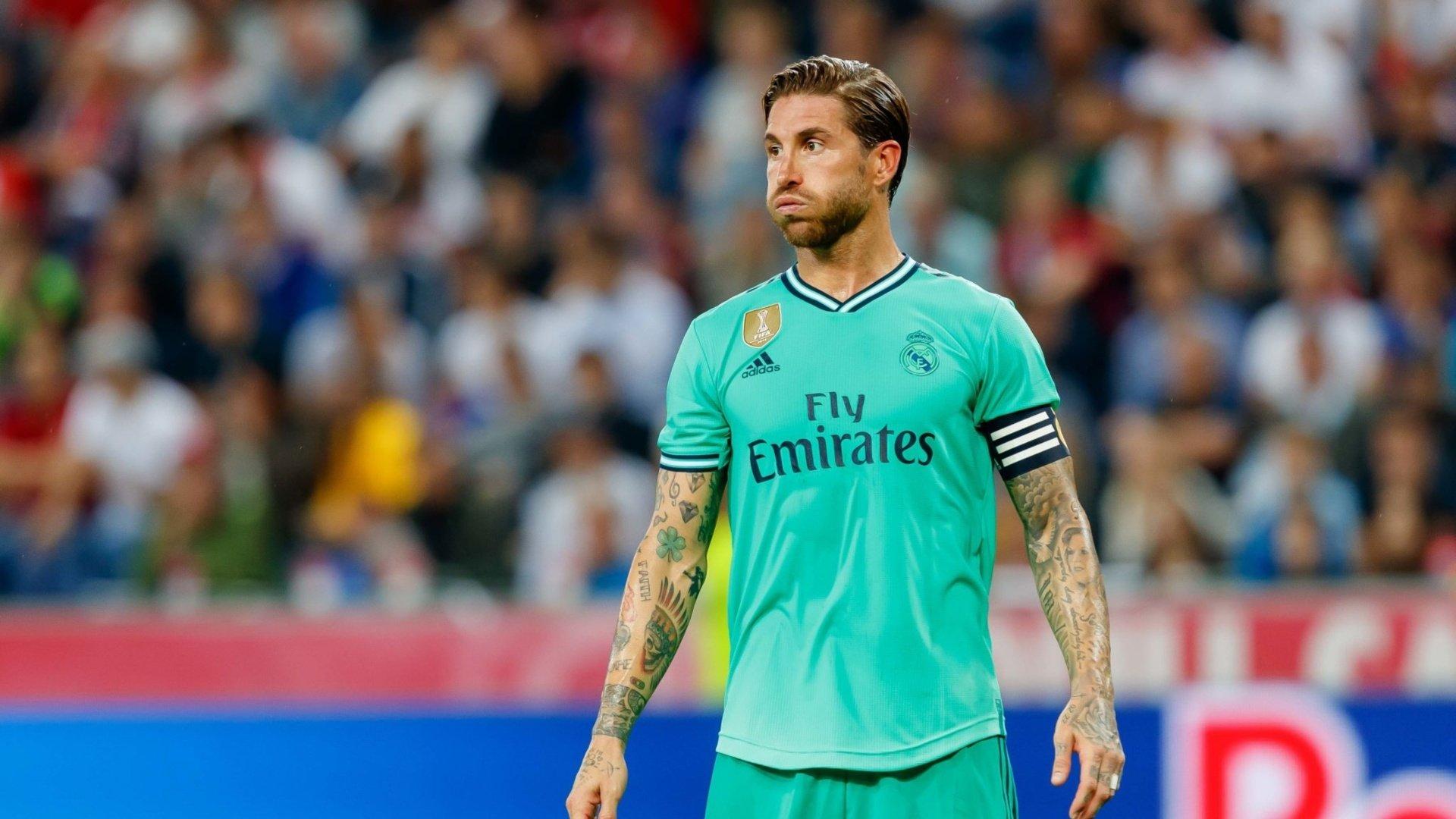 Ramos misses training ahead of Roma friendly