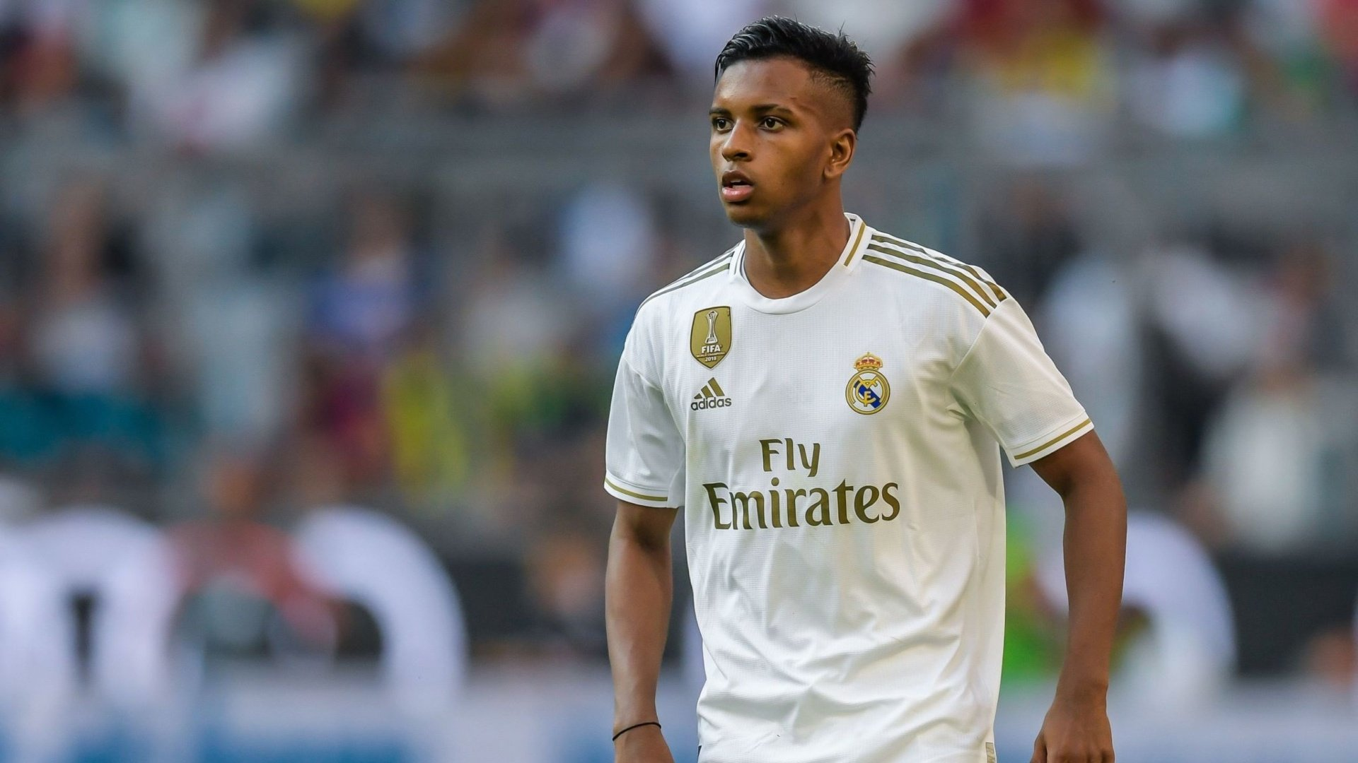 Rodrygo out with injury