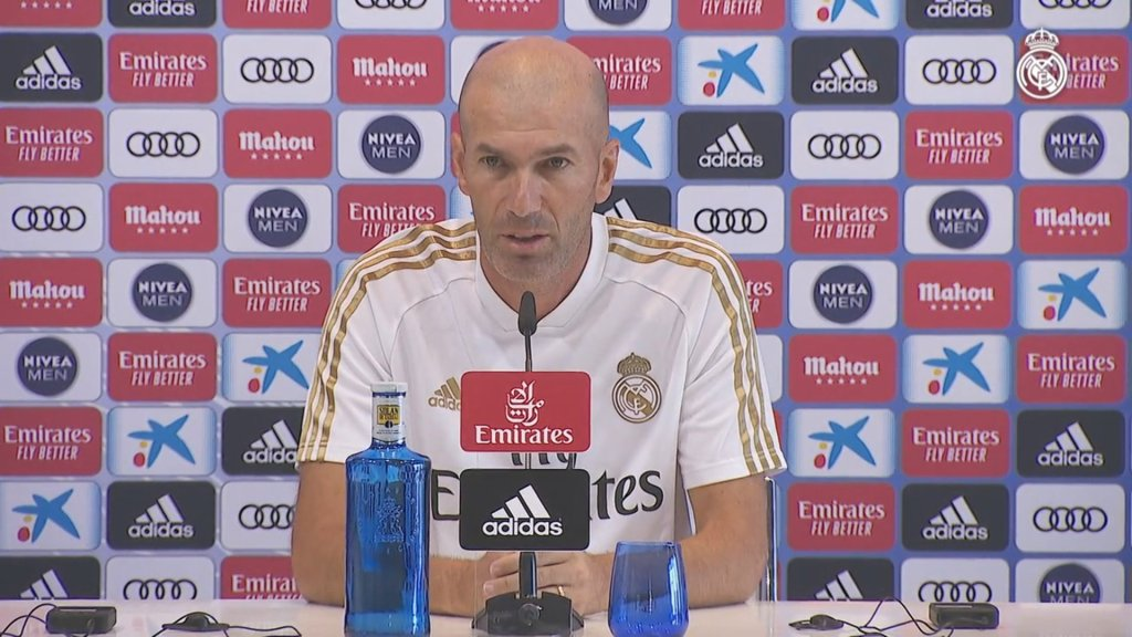 "Zidane: ""Anything can happen until Monday, one bomb, two bombs…"""