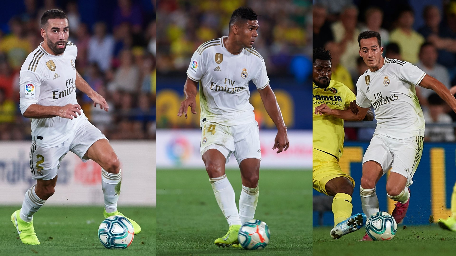 Carvajal, Casemiro & Lucas react to Villarreal draw