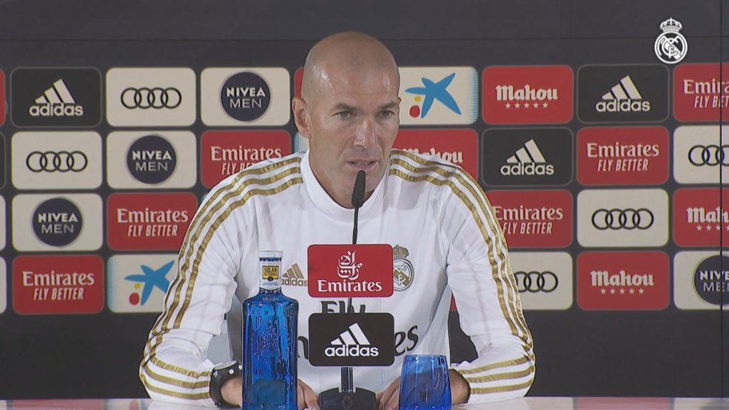 """Zidane: """"The key thing is to always give it our all"""""""