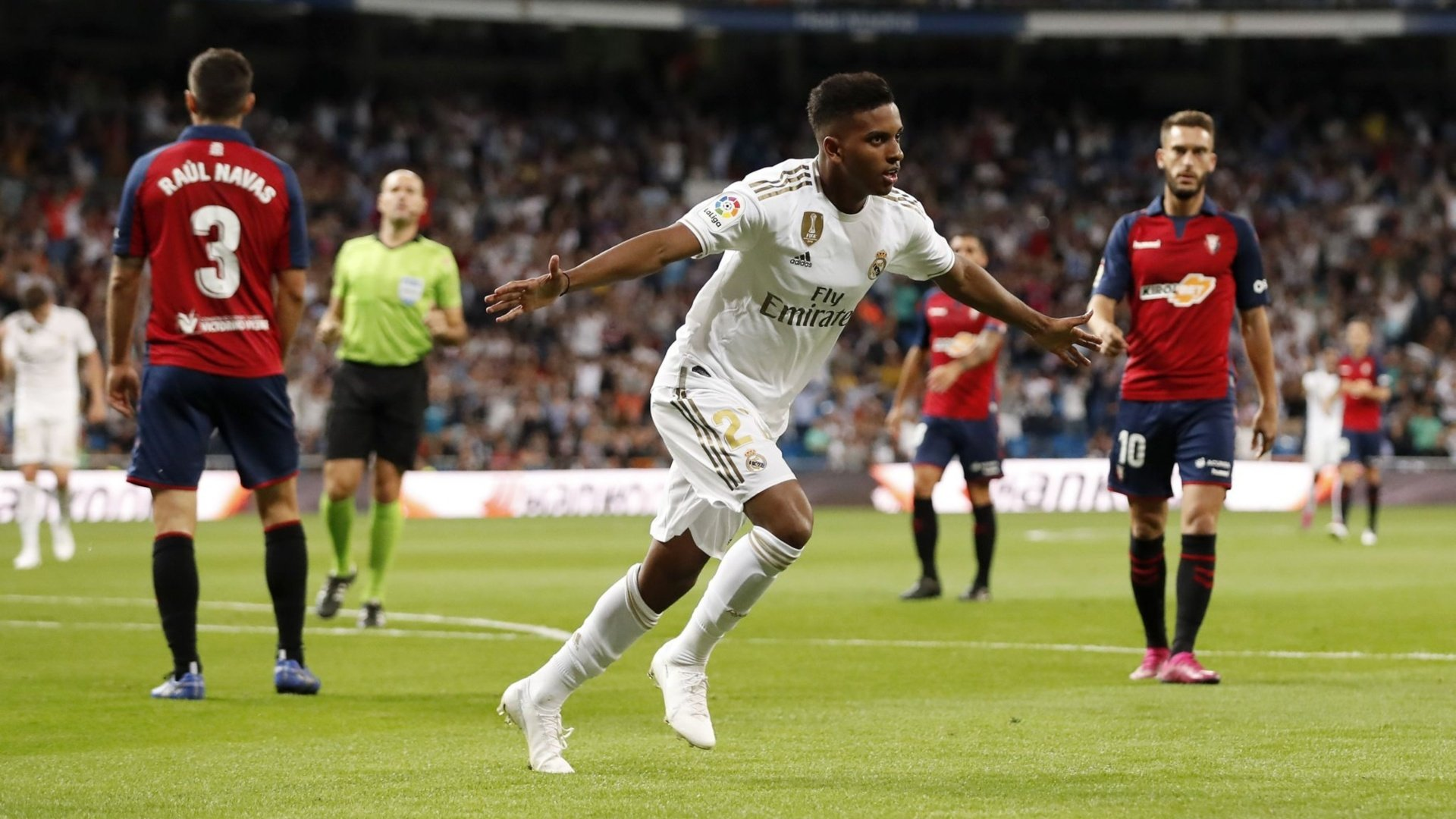 Report: Real Madrid 2-0 Osasuna