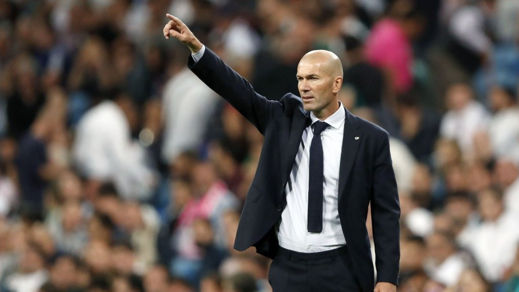 """Zidane: """"The most important thing is that we continue like this"""""""