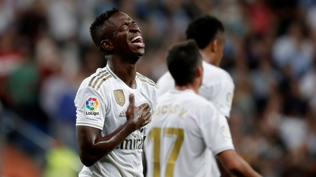 """Vinicius Jr: """"I'm happy and the goal is a massive weight off my shoulders"""""""