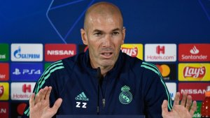 """Zidane: """"We need to give everything to beat Brugge"""""""