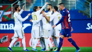 Report: Eibar 0-4 Real Madrid