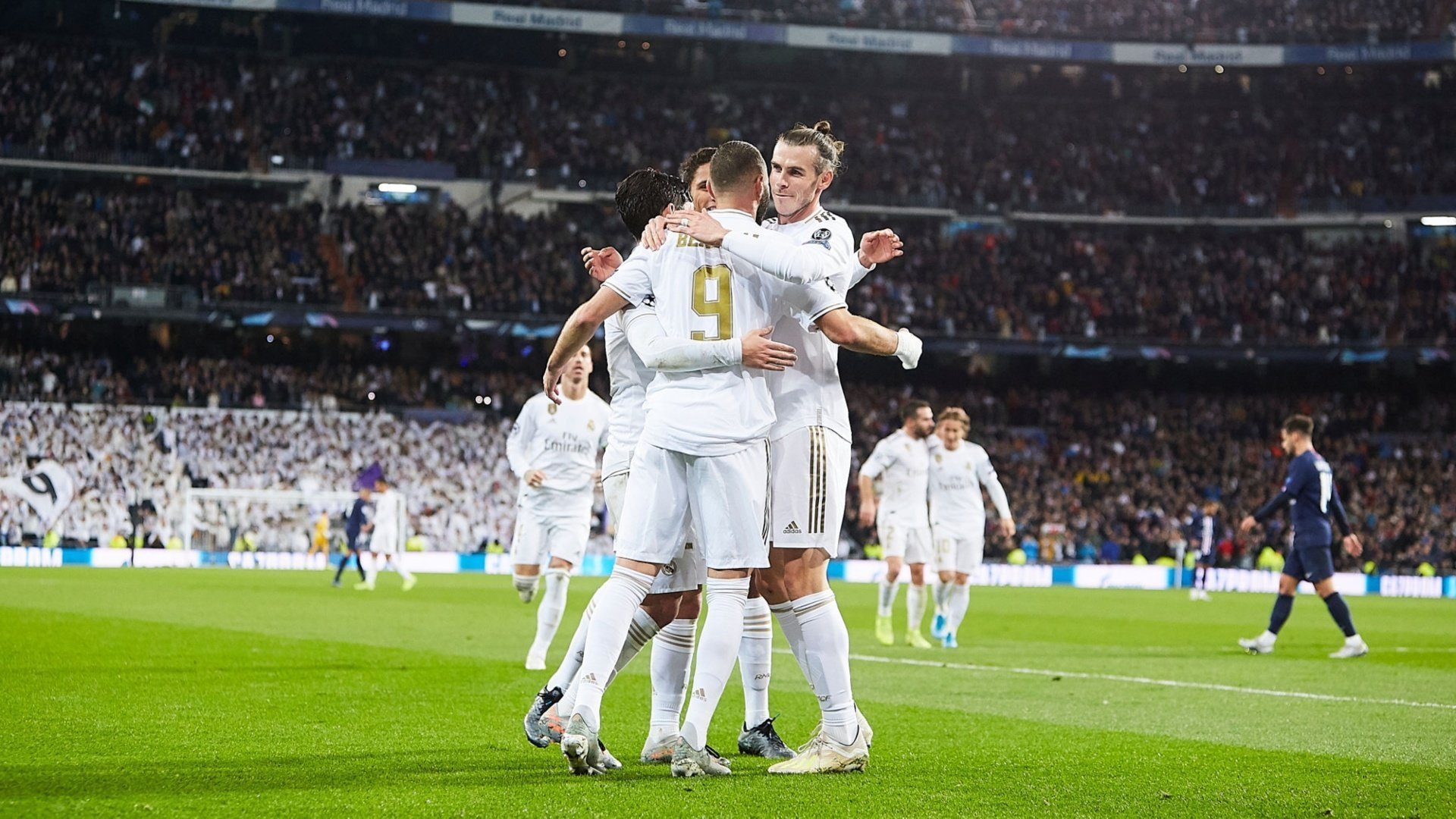 Report Real Madrid 2 2 Paris Saint Germain Infinite Madrid