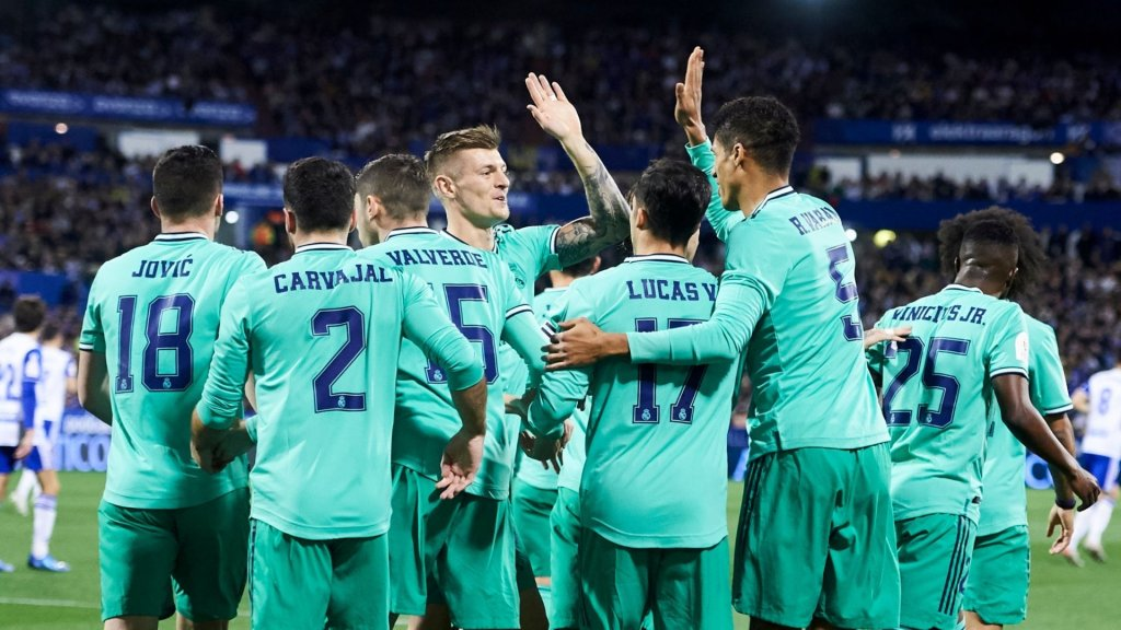 Report: Real Zaragoza 0-4 Real Madrid