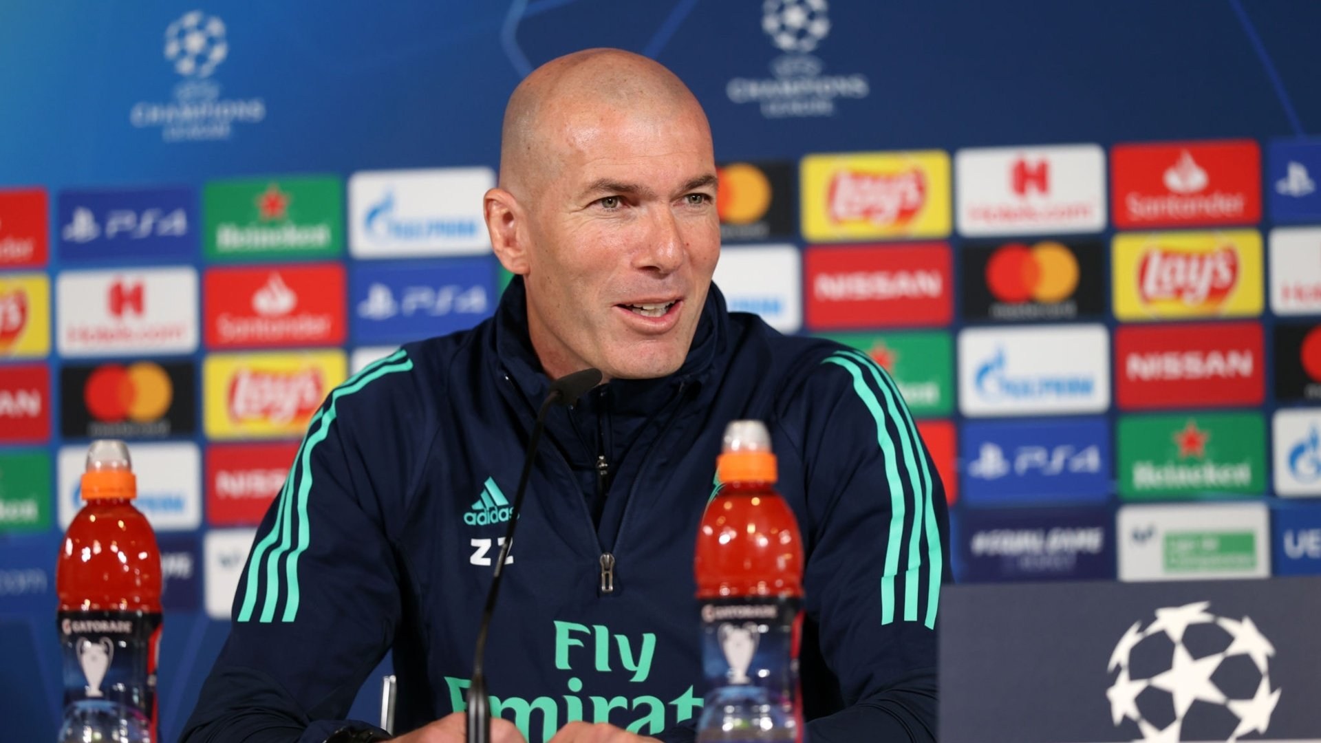 "Zidane: ""We're going to give everything we've got to make the fans proud"""