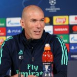 """Zidane: """"We're going to give everything we've got to make the fans proud"""""""