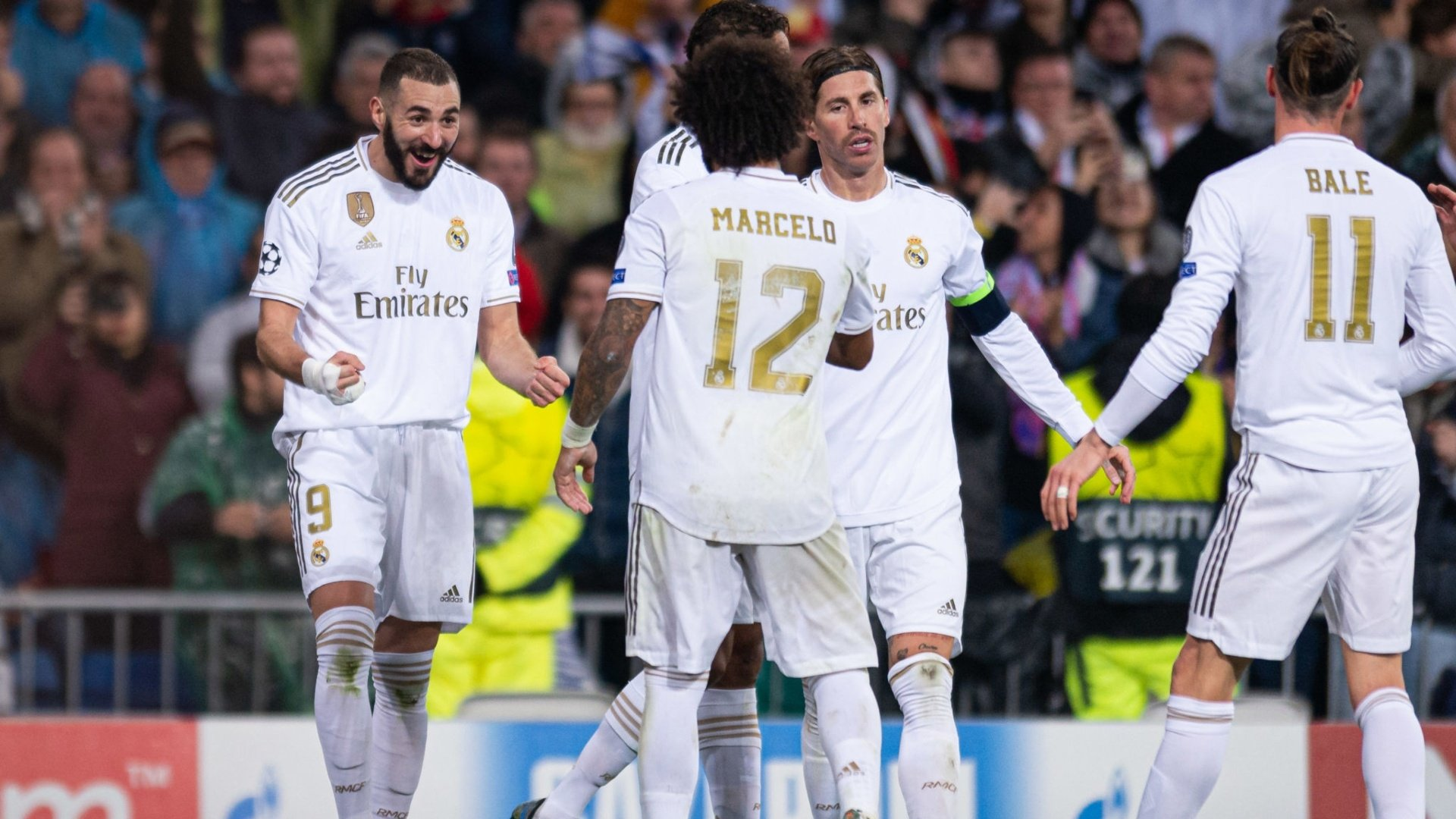 Confirmed: Real Madrid's 19-man squad for Man City clash
