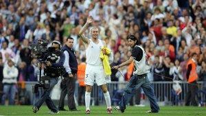 14 years to the day Zidane waved goodbye