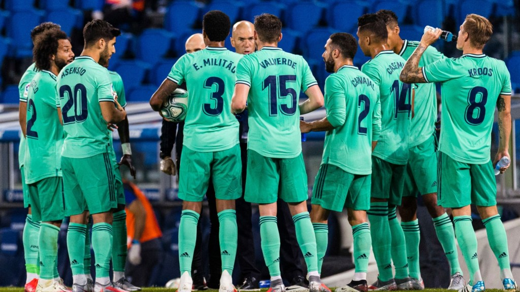Real Madrid's 23-man squad for the Espanyol game