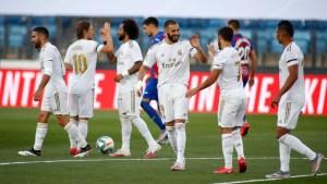 Match report: Real Madrid 3-1 Eibar