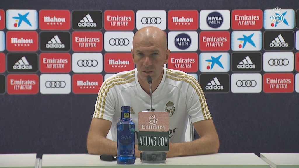 Zidane's pre-Espanyol press conference in full