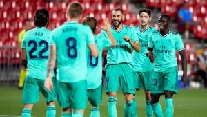Match report: Granada 1-2 Real Madrid