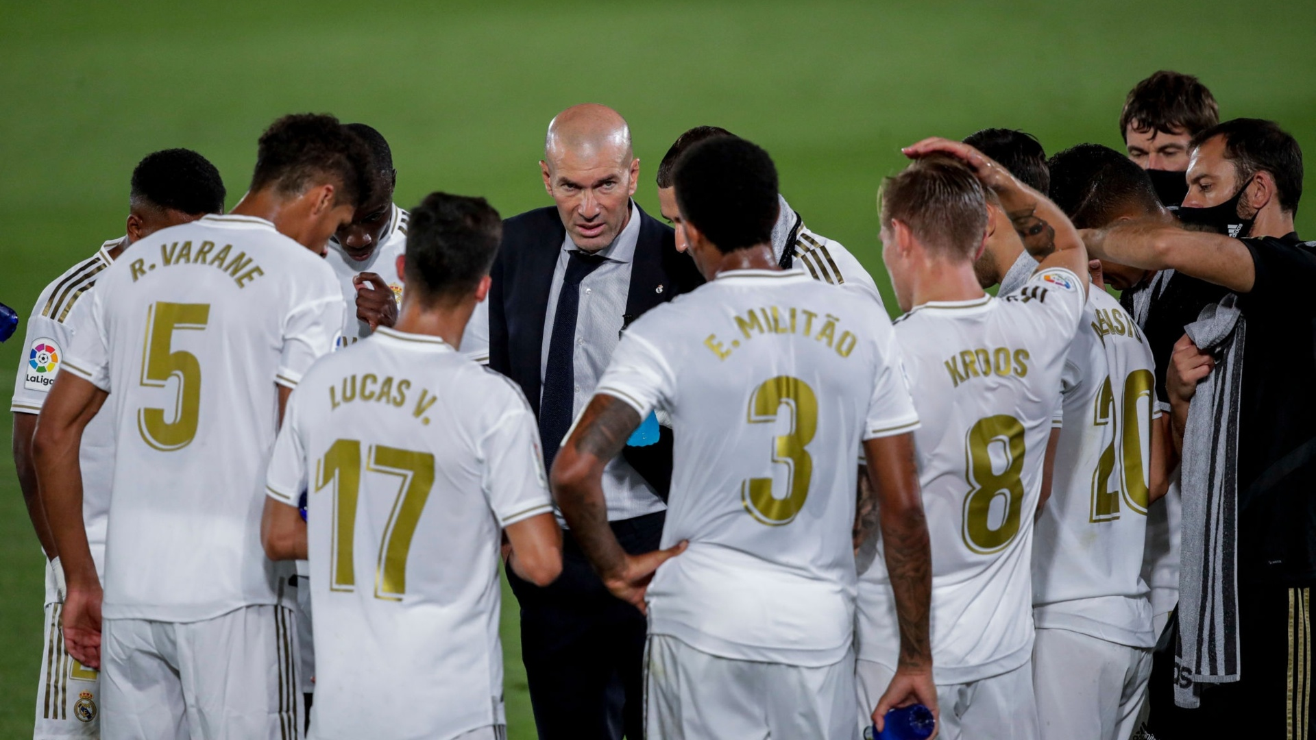 Real Madrid's 23-man squad for the trip to Granada