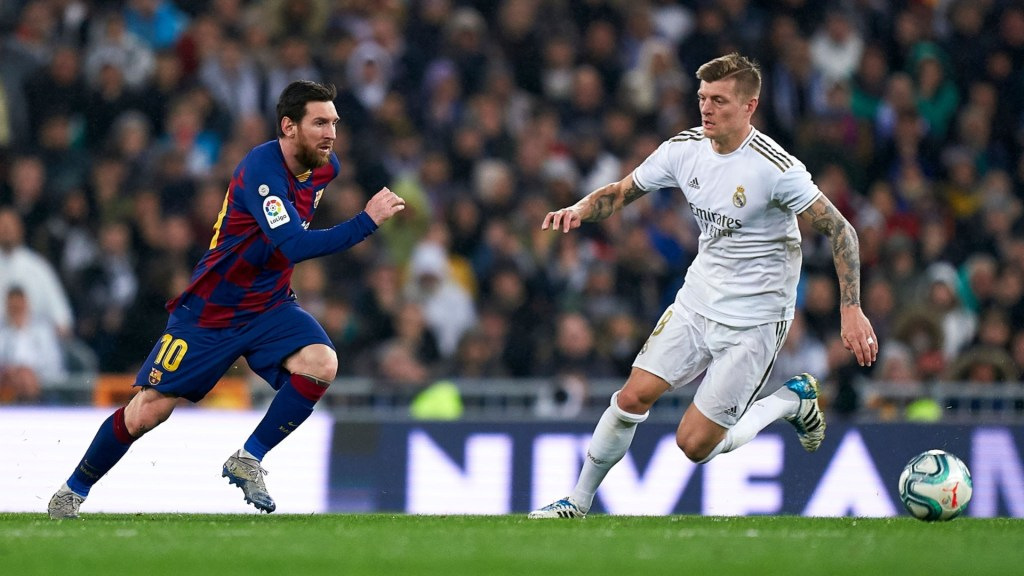 Messi's departure is opening the door for Madrid to dominate