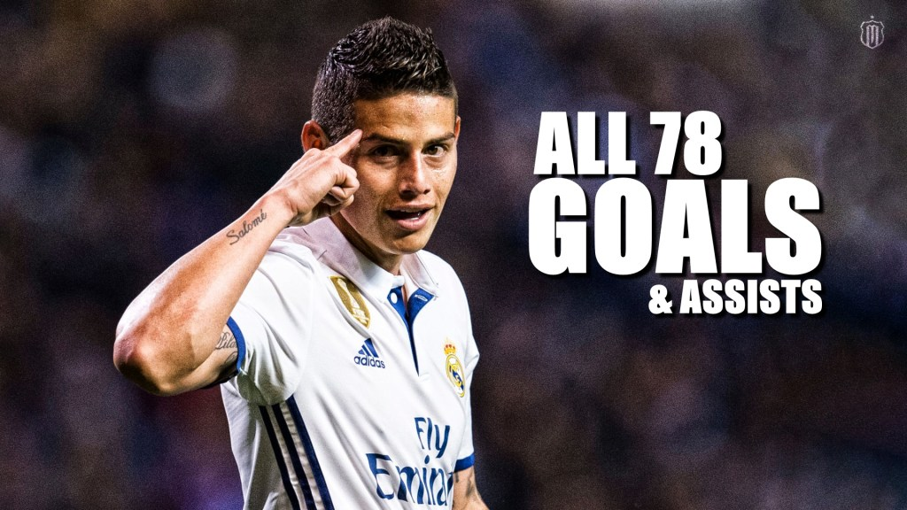 VIDEO: James Rodríguez All 78 Goals & Assists For Real Madrid