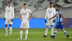 Match Report: Real Madrid 1-2 Deportivo Alavés