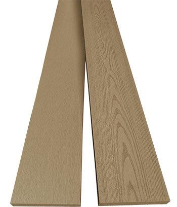 ไม้รั้ว ไม้ระแนง RC สี Teak